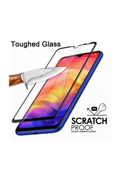 FiberAksesuar Samsung Galaxy A71 9d Tam Tam Kaplayan Koruma Full Kapatan Kavisli Kırılmaz Cam Ekran Koruyucu