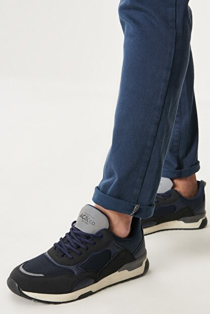 Altınyıldız Classics Erkek Lacivert Casual Spor Sneaker Ayakkabı