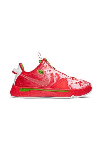 Nike Unisex Kırmızı Basketbol Ayakkabısı Pg4