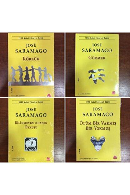 Kırmızı Kedi Yayınları Jose Saramago Serisi 4'lü Kitap Seti