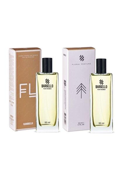 Bargello 2 Adet X 50 Ml Bayan Kadın Parfüm 408 Floral 50 Ml Edp