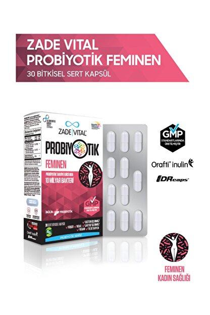 Zade Vital Feminen Probiyotik 30 Bitkisel Kapsül - Blister