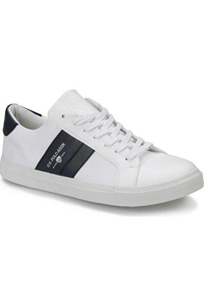 US Polo Assn 100357277 Anton Beyaz Erkek Sneaker Ayakkabı