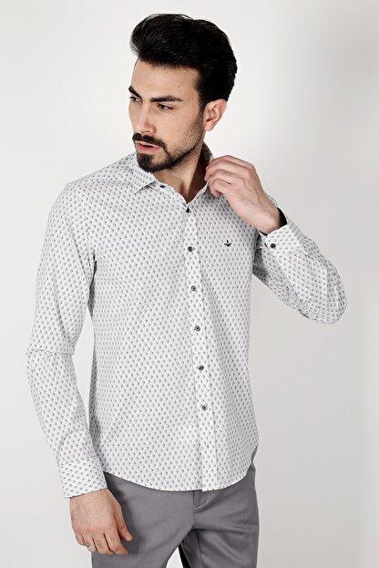 Jakamen Siyah Regular Fit Gömlek