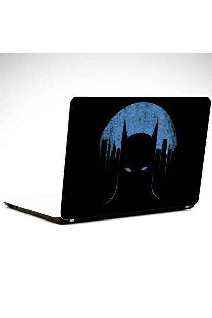 Dekolata Batman Mavi Laptop Sticker Laptop 15.6 Inch (38x27cm)