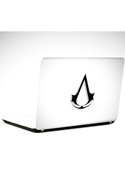Dekolata Assasins Siyah Laptop Sticker Laptop 19 Inch (40,5x27 cm)