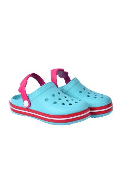 Kiko Kids Kız Çocuk Mavi Plaj Sandalet E196.46