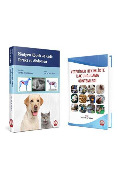 Ankara Nobel Tıp Kitapevleri Röntgen Köpek Ve Kedi: Toraks Ve Abdomen + Veteriner Hekimlikte Ilaç Uygulama Yöntemleri Seti