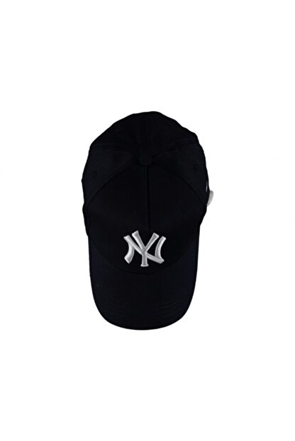 Capps Siyah Ny Nakışlı Şapka
