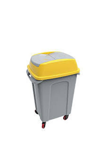 Hipp O Eko Seri Çöp Kovası Sarı 50 Lt Up-220