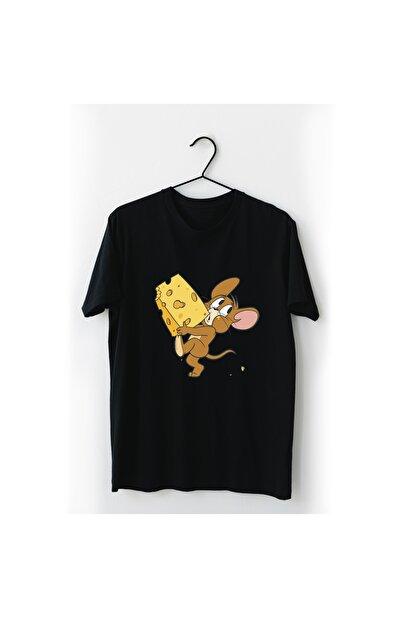 VectorWear Jerry Siyah Tişört