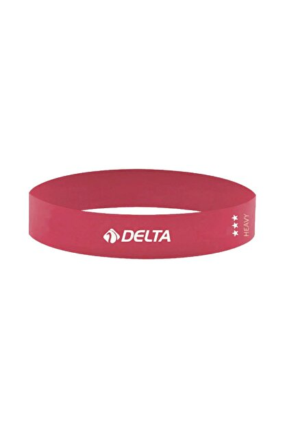 Delta Tam Sert Aerobik Bandı Latex Bant Pilates Yoga Lastiği