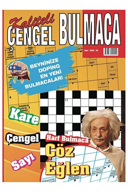 Kedi Yayınları Kaliteli Çengel Bulmaca Sayı 35 Çengel Kare Sudoku Kelime Kulesi Resimli Bulmacalar Oyunlar