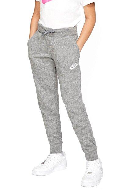 Nike Kız Çocuk Gri Eşofman Altı Bv2720-091