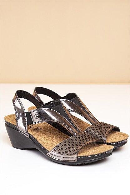 Pierre Cardin PC-1392 Füme Kadın Sandalet