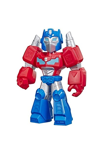 Playskool Super Hero Adventures Mega Mighties Transformers Rescue Bots Academy Optimus Prime