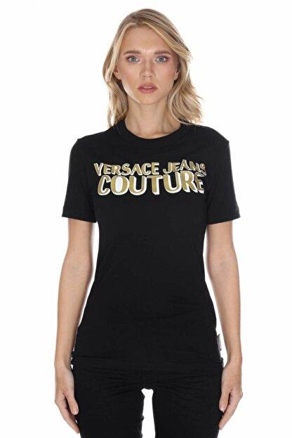 Versace Kadın Siyah T-shirt