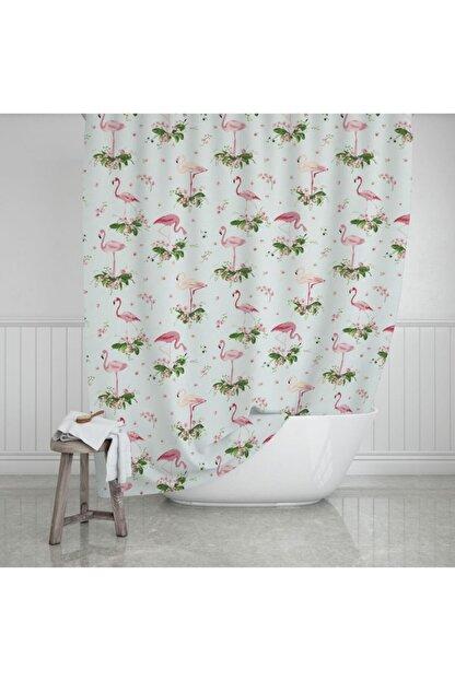 Zethome Evdy Banyo Duş Perdesi 9888 Çift Kanat 2x110x200