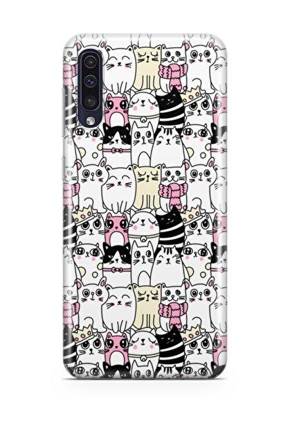 Melefoni Samsung Galaxy A70 Kılıf Kitty Serisi Jasmine