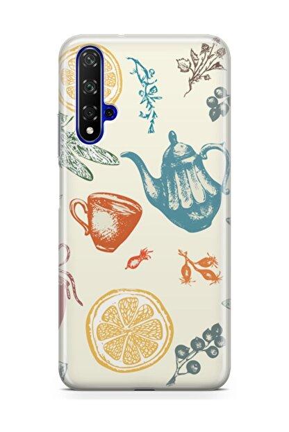 Melefoni Huawei Nova 5t Kılıf Tea Time Serisi Destiny