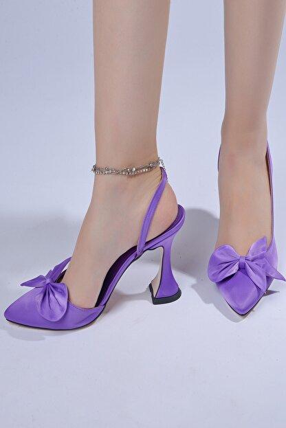 Tessera Kadın Mor Topuklu Ayakkabı
