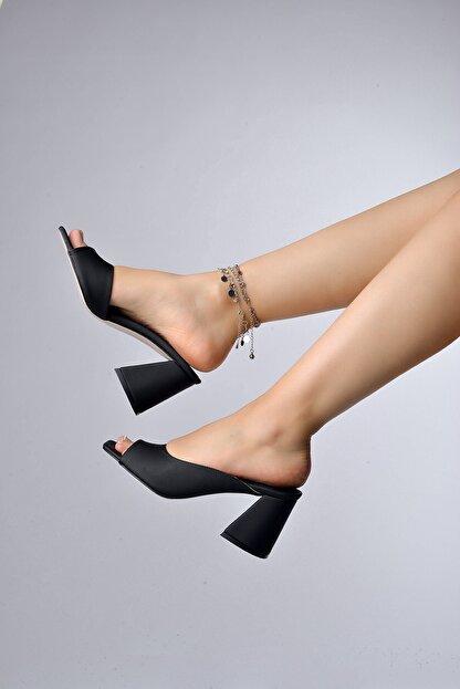 Tessera Topuklu Kadın Terlik