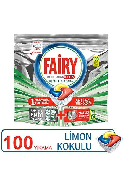 Fairy Platinum Plus 100 Yıkama Bulaşık Makinesi Deterjanı Kapsülü