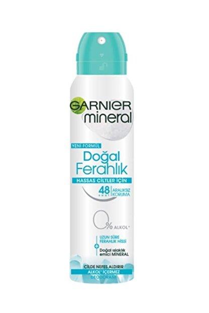 Garnier Hassas Ciltler Için Doğal Ferahlık Kadın Deodorant 150ml