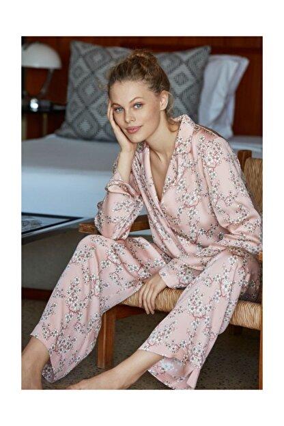 Penye Mood 8504 Uzun Kol Pijama Takımı