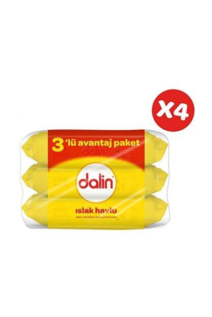 Dalin Islak Temizleme Mendili 56lı (3 lü Paket) x 4 Adet