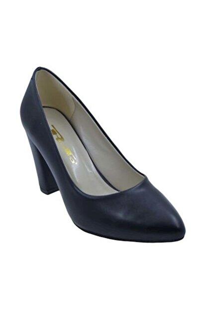 PUNTO 462003 Kadın Topuklu Ayakkabı- Siyah - 38
