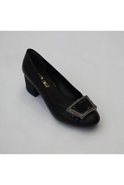 PUNTO Kadın Siyah Rolax Ayakkabı