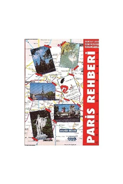 Özgül Yayınları Paris Rehberi - Michele Belard