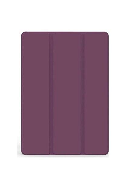 Happyshop Apple Ipad Pro 11 2020 Kılıf Arkası Şeffaf Standlı Kapaklı Smart Case