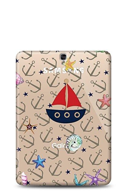 Eiroo Samsung T820 Galaxy Tab S3 9.7 Sailboat Kılıf
