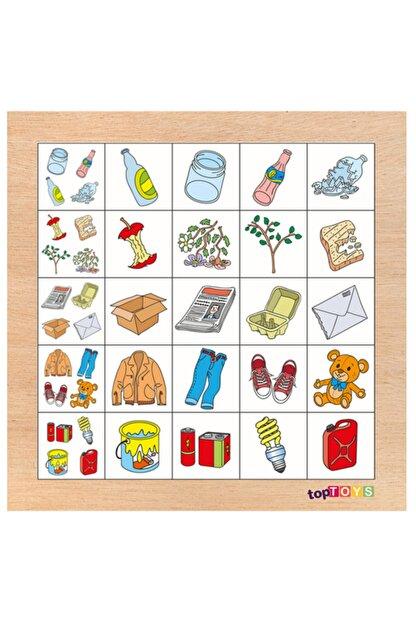 Adalinhome Geri Dönüşüm Ahşap Puzzle