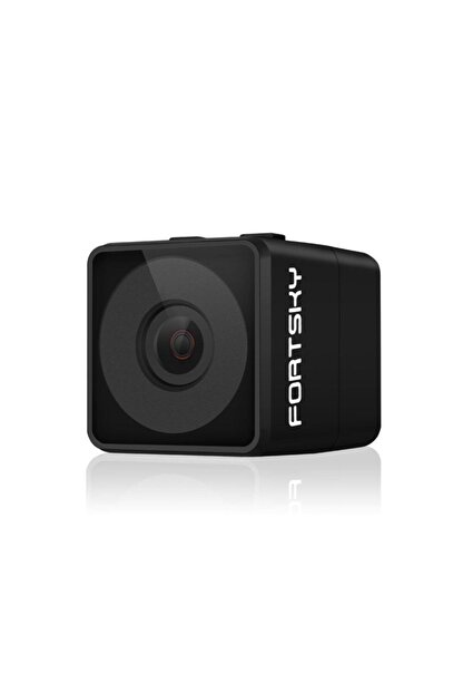 Fs Fpv Mikro Eylem Kamera 160° Hd 1080p Dvr Dahili Mikrofon W/kablo