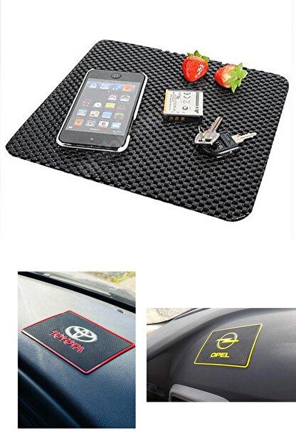 AutoFresh Fiat Grande Punto Uyumlu Toprido Pedi Araza Özel Logolu Telefon Mp3 Tablet Kaydırmaz