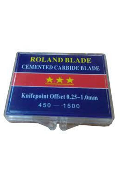 Roland Mouret Roland Flok-flex-fleks Bıçak Ucu 10 Adet Kore Süper Kalite