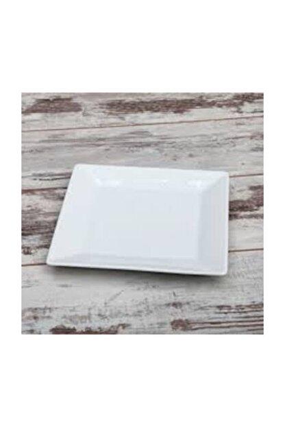 Güral Porselen Kare Servis Tabağı 6'lı 21*21 cm