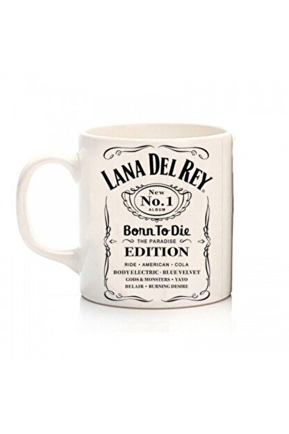 ZELYUM Beyaz Lana Del Rey -Born To Die Kupa