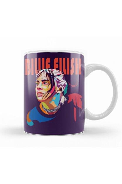Baskı Dükkanı Billie Eilish Kupa Bardak Porselen