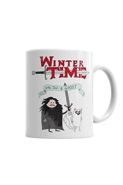 Baskı Dükkanı Game Of Thrones Adventure Time Kupa Bardak Porselen