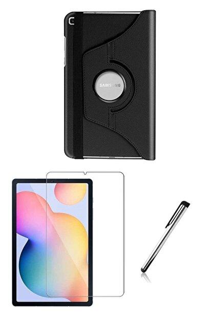 Esepetim Samsung Galaxy Tab S6 Lite P610 Dönerli Tablet Kılıf Seti (10.4 Inç) Siyah