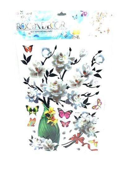 cosy home gift Kristal Vazo Çiçek Ofis Ev Dekor Süsleme Renkli Pvc Sticker 7d Görünümlü Pvc Sticker