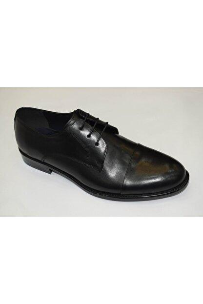 PUNTO Erkek Siyah Antik Klasik Ayakkabı  464074