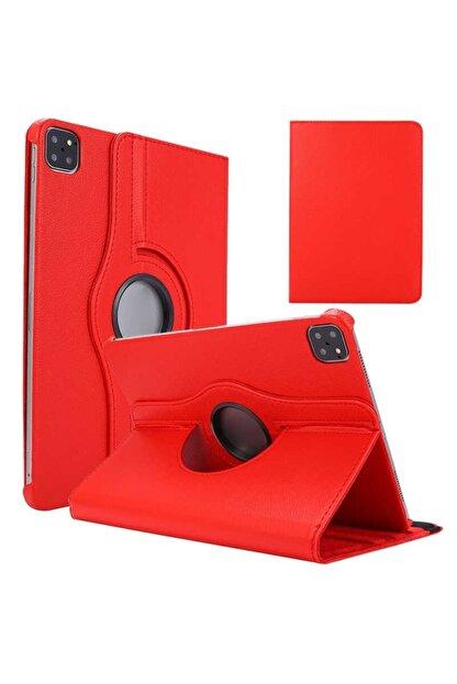 Mobilteam Kırmızı Apple Ipad Pro 11 2020 Dönebilen Standlı Kılıf
