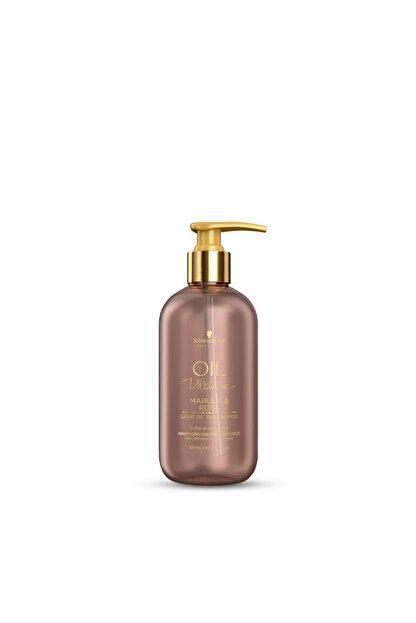 Schwarzkopf Professional Oil Ultime Marula & Rose Light Oil Şampuan 300 ml