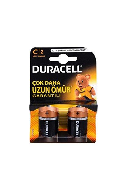 Duracell C Boy Orta Pil 2 Li