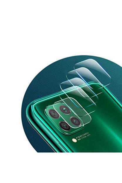 Dijimedia Huawei P40 Lite Nano Kamera Camı Kamra Koruyucu Lens